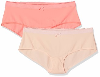 Dim Women's Boxer LES Pockets Microfibre X2 Boy Short