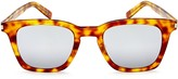 Saint Laurent Slim Mirrored Square Sunglasses, 47mm