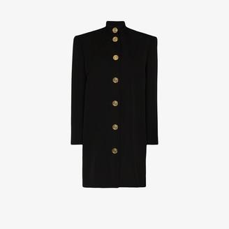 Balenciaga Buttoned Coat Dress