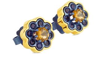 Tous View 18K & Titanium Gemstone Drop Earrings