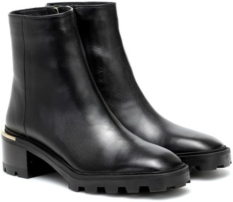 Jimmy Choo Melodie 35 leather ankle boots