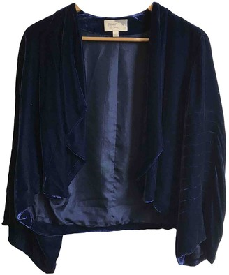 Elizabeth and James Navy Velvet Jacket for Women