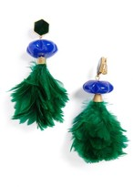 Tory Burch Women's Feather Drop Earrings