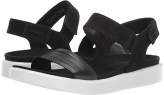 Ecco Flowt Strap Sandal (Lion/Cashmere Cow Leather/Cow Nubuck) Women's Sandals