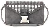 Christopher Kane Embellished Suede Shoulder Bag