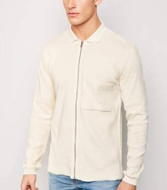 New Look Pocket Zip Front Cardigan