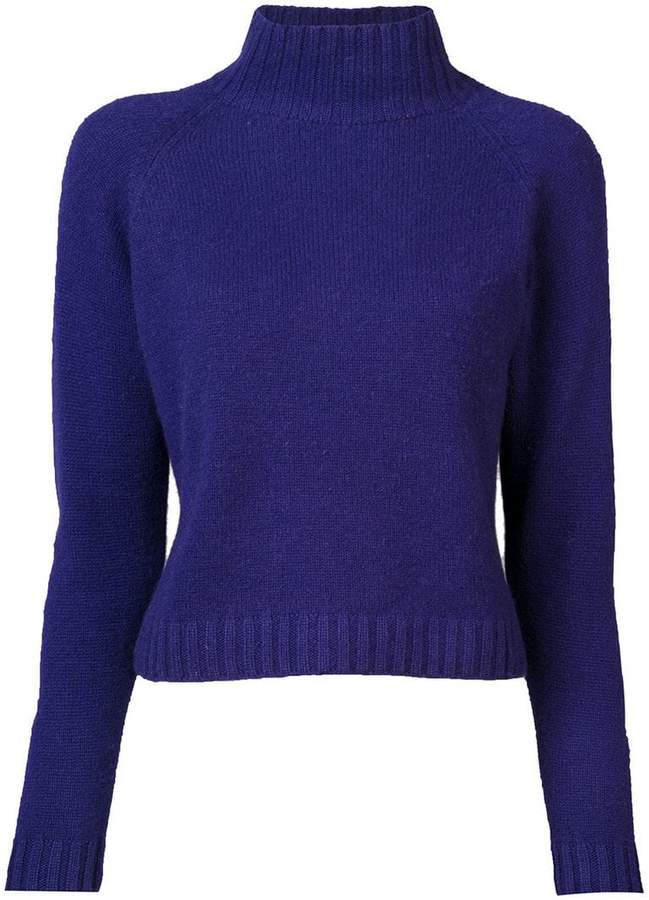 The Elder Statesman cashmere highland turtleneck jumper