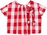 Funkyberry Gingham Shirt (Toddler, Little Girls, & Big Girls)