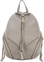 Rebecca Minkoff small dogclip backpack - women - Leather/Cotton - One Size