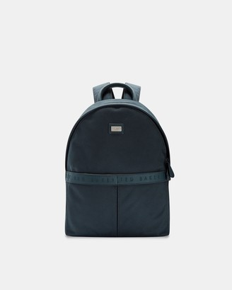 Ted Baker Branded Nylon Backpack