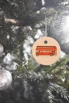 DENY Designs Florent Bodart London Bus Ornament
