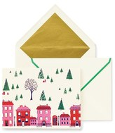 Kate Spade Set Of 10 Holiday Boxed Cards - White