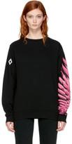 Marcelo Burlon County of Milan Ssense Exclusive Black Pras Sweatshirt