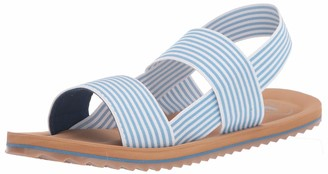 Rocket Dog womens Elastic Strap Slide