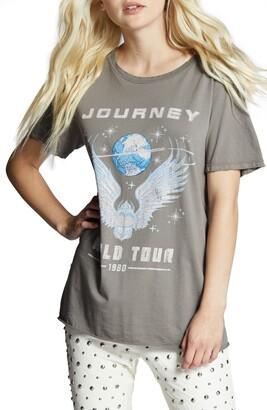 Recycled Karma Journey World Tour Boyfriend Graphic Cotton Tee