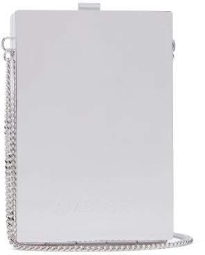 Ambush Mirrored Chain-handle Metal Card Case - Mens - Silver
