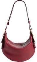 Salvatore Ferragamo 'Small Badia' Pebbled Leather Hobo Bag