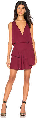 Krisa Layered Skirt Mini Dress