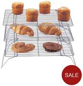Apollo 3-Tier Chrome Cake Cooling Rack