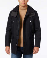 Michael Kors Men's Slim-Fit Detachable Hood Parka