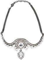 Emanuele Bicocchi Swarovski crystal pendant headband - women - Brass/Swarovski Crystal - One Size