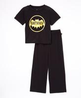 Intimo Batman Vintage Logo Pajama Set - Boys