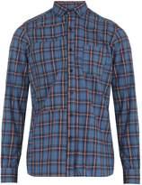 Lanvin Plaid single-cuff cotton shirt