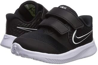 Nike Kids Star Runner 2 (Infant/Toddler) (Black/White) Kids Shoes