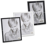 "Nicole Miller 4"" x 6"" Glamour Black Enamel Frame"