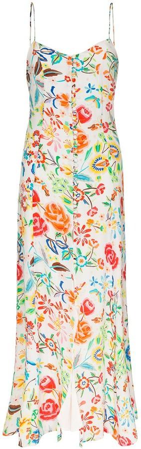 All Things Mochi Melissa floral-print maxi dress