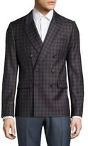 Paul Smith Double Breasted Wool Jacket