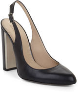 BCBGMAXAZRIA Febe High-Heel Leather Sling-Back