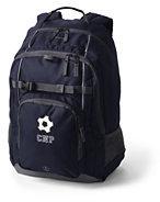 Lands' End ClassMate Large Backpack-Red