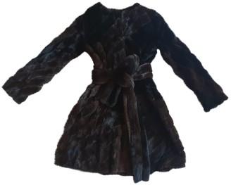Dennis Basso Multicolour Mink Coat for Women