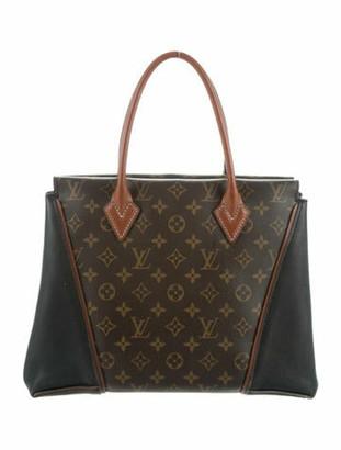 Louis Vuitton Monogram W PM Tote Brown