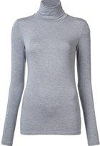 Majestic Filatures high neck longsleeved T-shirt - women - Spandex/Elastane/Viscose - 1