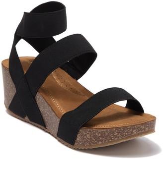 Madden-Girl Zoeyy Cork Wedge Sandal
