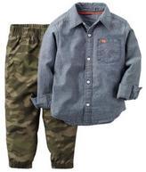 Carter's Boys' 2-Piece Shirt & Pant Set