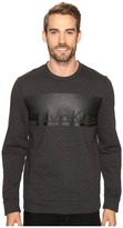 Calvin Klein Long Sleeve Printed Crew Neck Sweatshirt