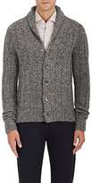 Isaia Men's Camel-Hair-Blend Cardigan