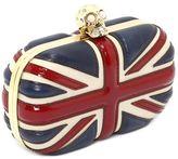 Britannia Skull Box Clutch