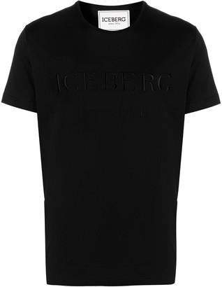 Iceberg logo-embroidered T-shirt