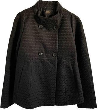 Mauro Grifoni Black Wool Jacket for Women