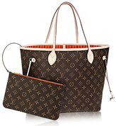 Louis Vuitton Authentic Neverfull MM Monogram Canvas Handbag Article:M41388