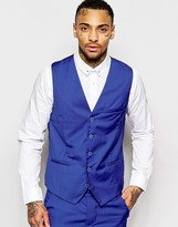 Rogues Of London Waistcoat In Skinny Fit