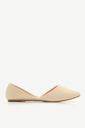 Ardene Faux Leather D'Orsay Flats