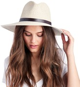 Sole Society Straw Sunhat with Band