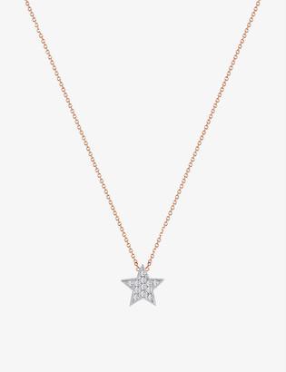 THE ALKEMISTRY Dana Rebecca Julianna Himiko 14ct rose gold and diamond necklace
