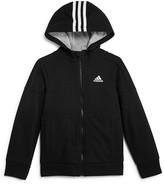 adidas Boys' French Terry Jacket - Sizes 4-7