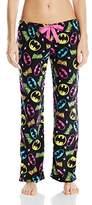 DC Comics Women's Ladies Fleece Pant Bat Girl